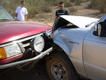Prerunner Carnage in Baja by Eric A