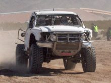 Race Truck Carnage at the Battle at Primm Race