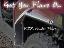 RZR S Fender Flares