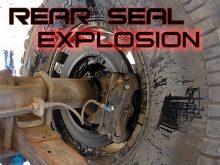 Rear Seal Prerunner Carnage