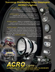 HID Offroad Lights by Acro Lights