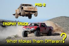 Pro2 vs Trophy Truck What Makes Them Different