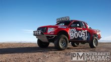 Ford EcoBoost F150 in the Baja 1000
