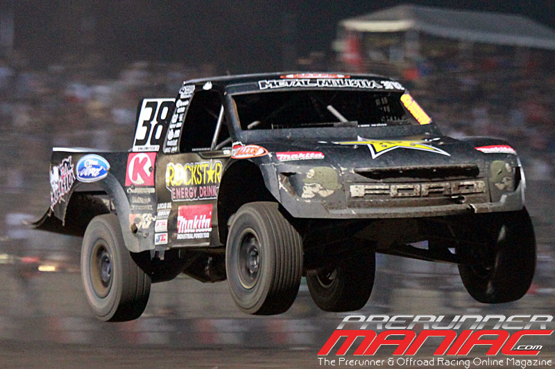 Brian Deegan takes 1st place in Pro 2 Unlimited for Round 10 at Glen Helen Raceway