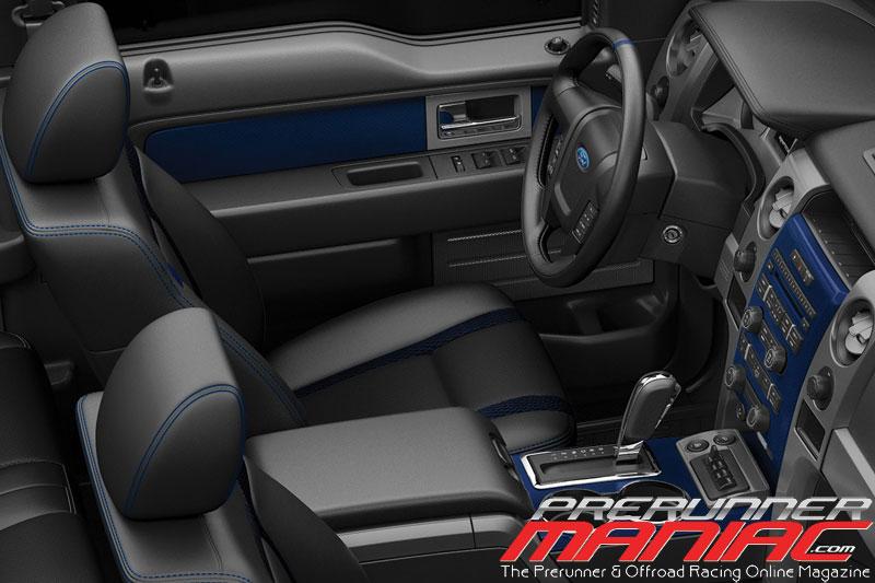 2012 F-150 SVT Raptor interior