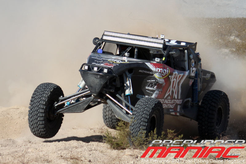 Adam Bosch in the #121 Unlimited Buggy