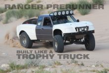 Ranger Prerunner Built like a Trophy Truck Video