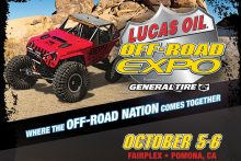 Off Road Expo Coming Oct 5-6