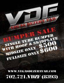 Prerunner Bumper Sale – Vegas Dezert Fab