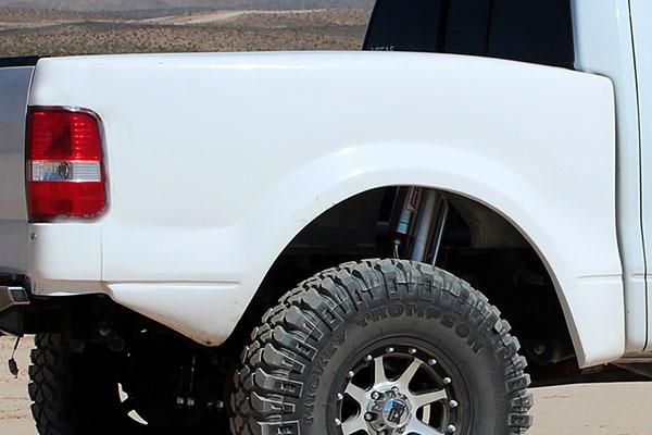 Fiberwerx F150 Fiberglass Bedsides