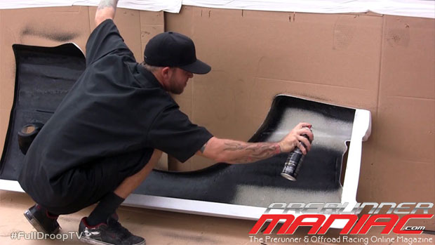 Duplicolor Spray in bedl liner Bed Armor