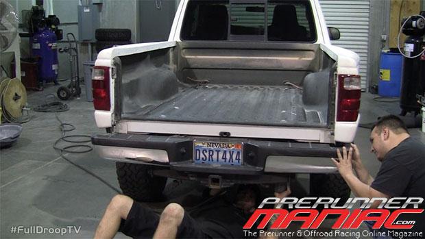 reinstall the factory bumper